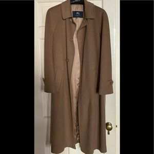 Authentic BURBERRY Mens Wool/Cashmere Coat 38R
